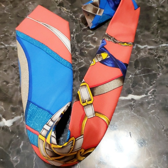 Hermes Other - Hermes authentic tie bright beautiful colors